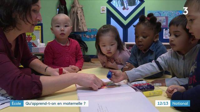 École : qu'apprennent les enfants à la maternelle ?