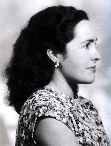 Eugenia en 1951  (Philippe Sollers)
