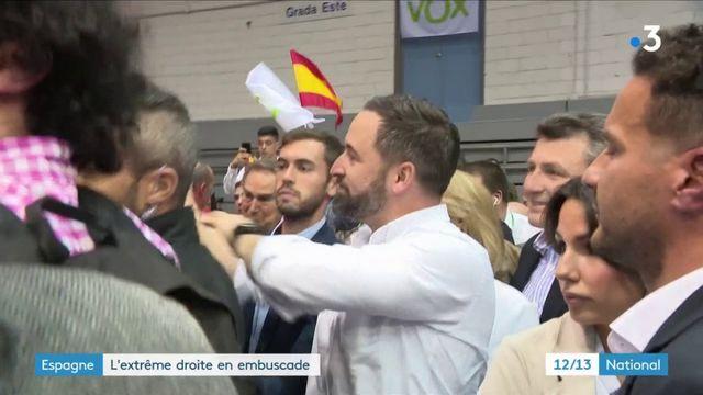 Législatives en Espagne : un candidat d'extrême droite qui séduit de plus en plus