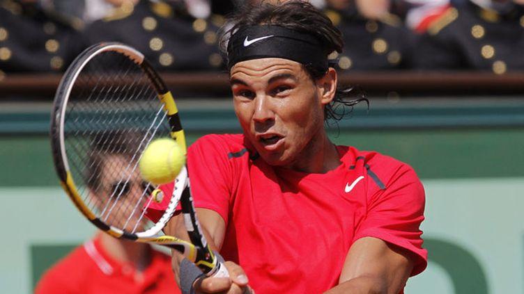 Rafael Nadal n'a laissé jusqu'alors aucune chance à ses adversaires aux Internationaux de France