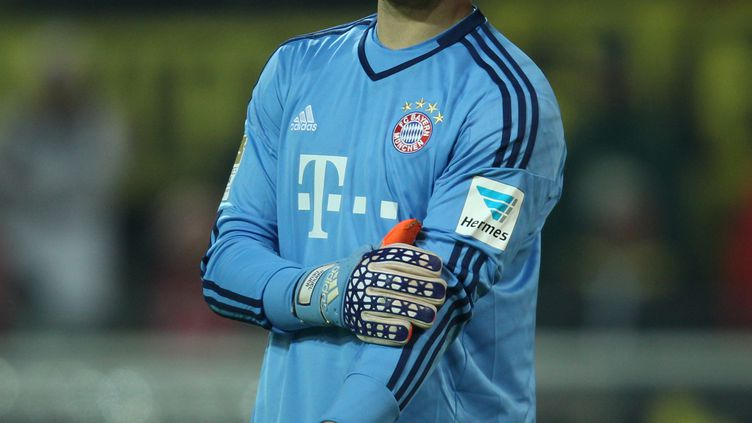 Le gardien du Bayern Munich, Manuel Neuer (INA FASSBENDER / DPA)