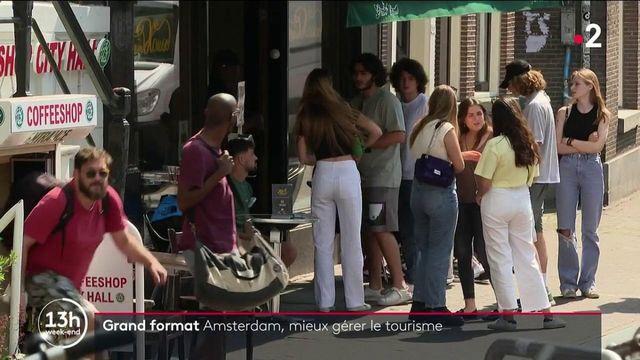 Pays-Bas : la mairie d'Amsterdam veut restreindre l'accès des coffee shops aux touristes