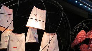 """Exposition Circus au salon du livre de Montreuil. """"Barnhominum"""", Emmanuelle Houdart  (Laurence Houot-Remy)"""