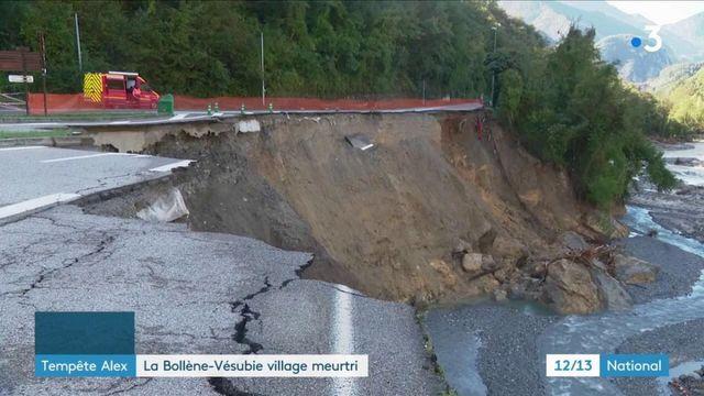 La Bollène-Vésubie : un village meurtri par la tempête Alex