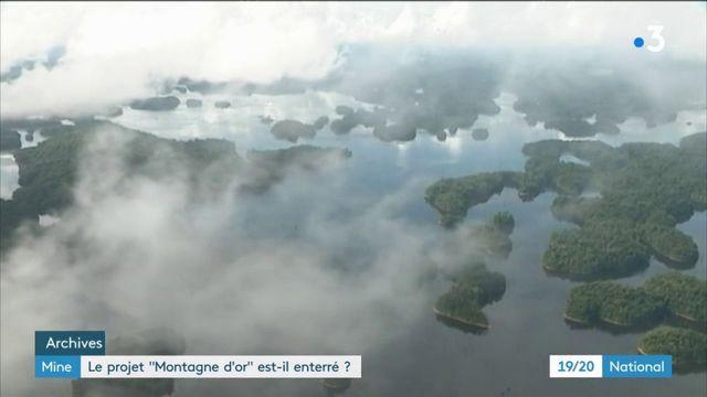 Montagne d'Or : le projet de mine d'or en Guyane est-il enterré ?