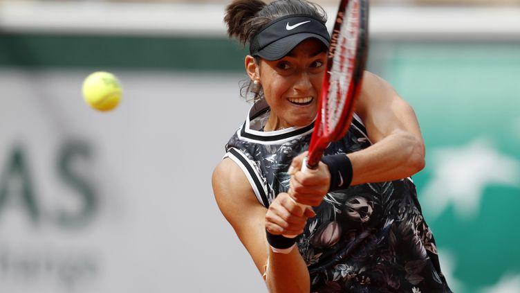 Caroline Garcia, à Roland-Garros, le 30 mai 2019. (VINCENT KESSLER / REUTERS)