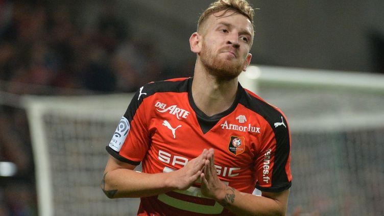 Pedro Henrique, un formidable potentiel technique pour un Stade Rennais à la recherche de résultats. (JEAN-FRANCOIS MONIER / AFP)
