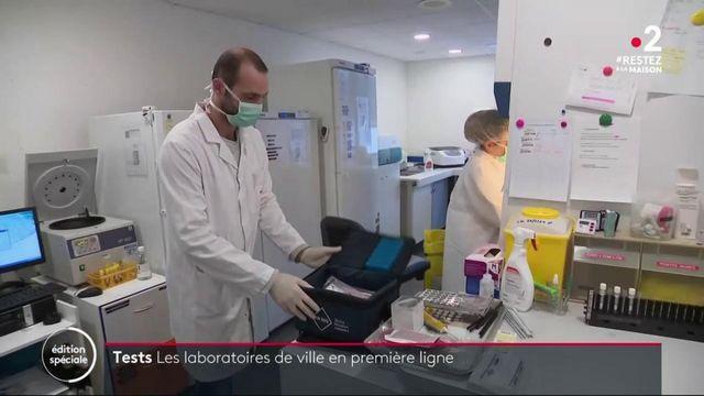 Coronavirus : les laboratoires de ville en première ligne pour le dépistage