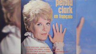 "Le 45 tours de ""Tu perds ton temps"" par Petula Clark. (RADIO FRANCE)"