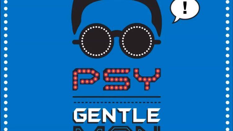 Visuel du noueau single de la star sud-coréennePsy, Gentleman, disponible en ligne depuis le 11 avril 2013. (DR)