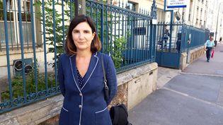 L'élue d'opposition Agnès Cerighelli à Saint-German-en-Laye (Yvelines), le 17 juin 2019. (MAXPPP)