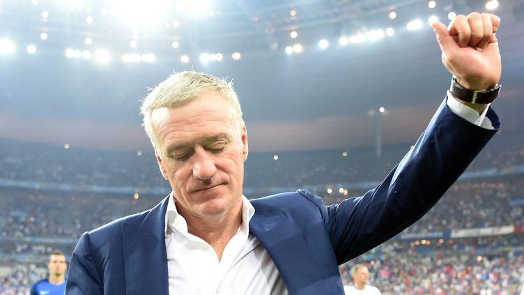 Didier Deschamps déçu pour ses joueurs et les supporters (PATRIK STOLLARZ / AFP)
