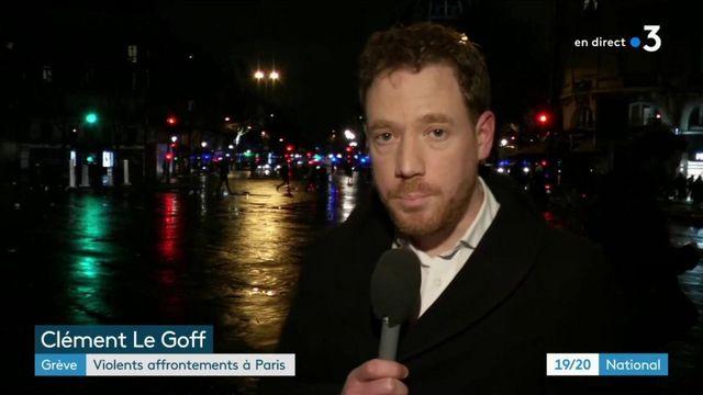 Grève du 9 janvier : violents affrontements à Paris