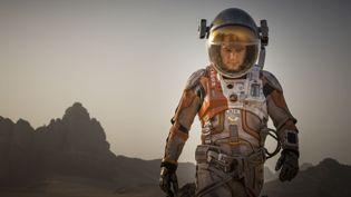 """L'acteur Matt Damon interprète MarkWatney, un astronaute laissé pour mort, dans """"Seul sur Mars"""", de Ridley Scott. (20TH CENTURY FOX FRANCE)"""