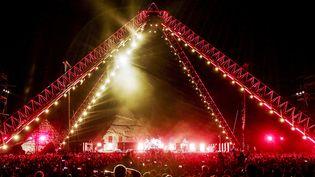 Les Red Hot Chili Peppers jouent le 15 mars aux Pyramides de Gizeh.  (AFP)