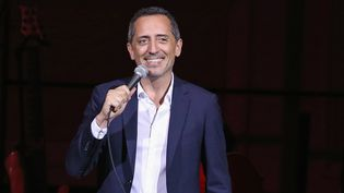 Gad Elmaleh sur scène au Carnegie Hall 12 septembre 2018 à New York   (Bennett Raglin / GETTY IMAGES NORTH AMERICA / AFP)