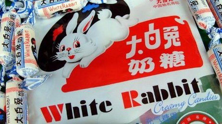 Bonbons chinois Lapin Blanc. (LIU JUNFENG / IMAGINECHINA)