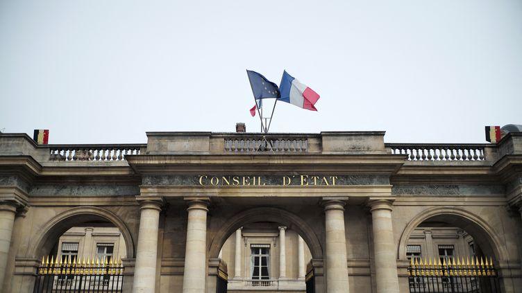 Le Conseil d'Etat, à Paris, le 10 mars 2021. (LOU OSRA / HANS LUCAS / AFP)