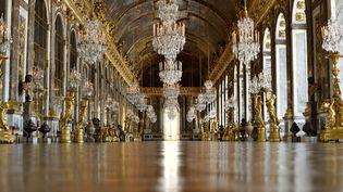 La galerie des Glaces au château de Versailles le 10 février 2021. (ALEXANDRE MARCHI / MAXPPP)