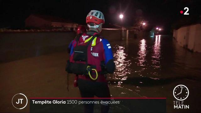 Tempête Gloria : les riverains s'adaptent aux fortes pluies