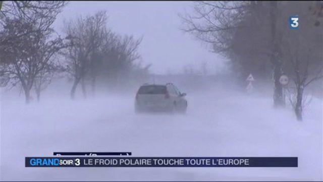 Froid : toute l'Europe est touchée