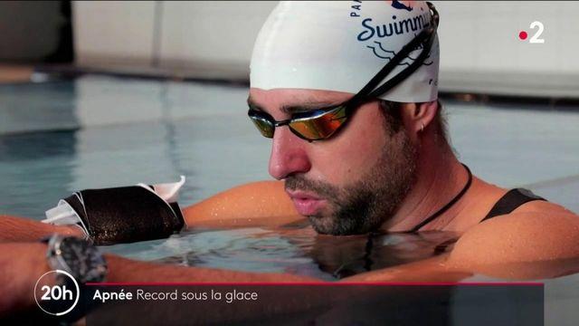 Sports : nouveau record du monde pour le champion d'apnée, ArthurGuérin-Boëri