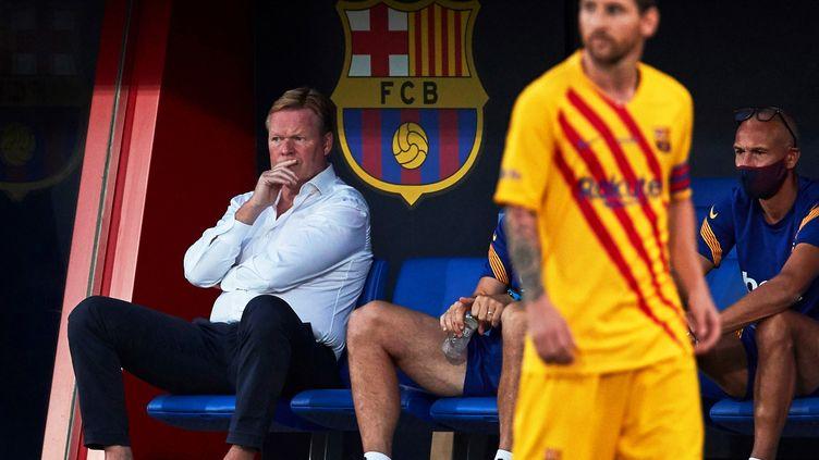 Ronald Koeman reste confiant sur les performances de son capitaine, Lionel Messi (ALEJANDRO GARCIA / EFE)