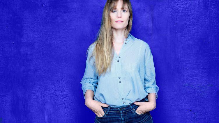 La romancière belge Adeline Dieudonné, le 7 janvier 2021 (Céline Nieszawer)
