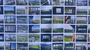 """""""A chacun sa fenêtre"""", le fresque participative de l'unité d'habitation Le Corbusier à Firminy (42)  (France 3 / Culturebox)"""