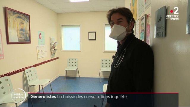 Coronavirus: les consultations en baisse chez les médecins généralistes