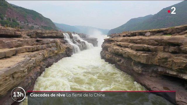Chine : l'impressionnante cascade d'Hukou, sur le fleuve jaune