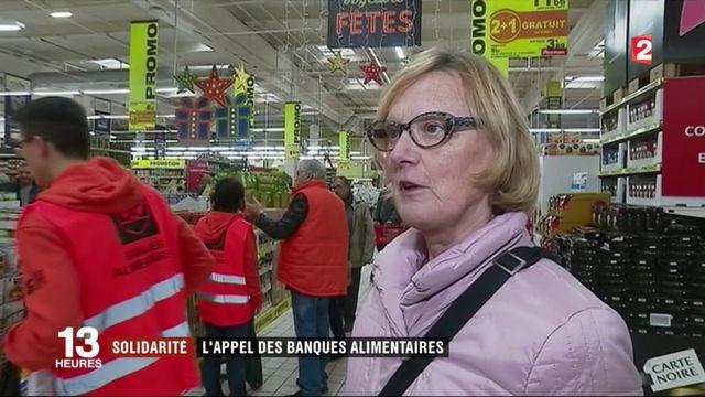 Solidarité : l'appel des banques alimentaires