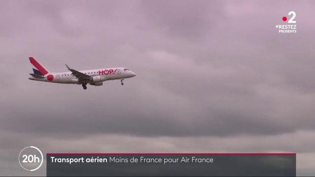 Aviation : Air France annonce une réduction des vols intérieurs de 40%