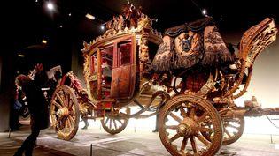 Un des carrosses de l'exposition  (PHOTOPQR/VOIX DU NORD/Sami BELLOUMI)