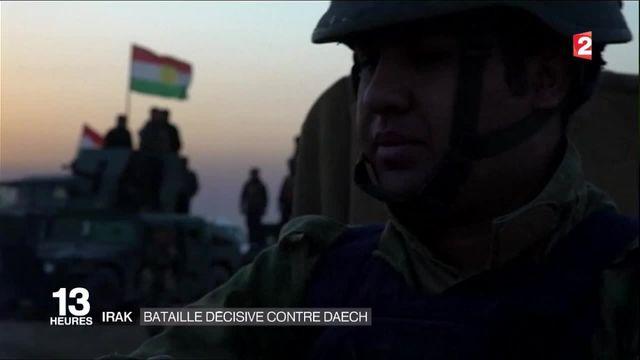 Mossoul : début de l'offensive contre Daech