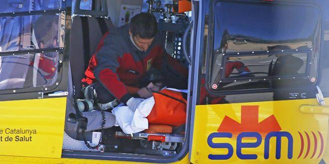 Fernando Alonso évacué en hélicoptère pour des examens rassurants à Barcelone