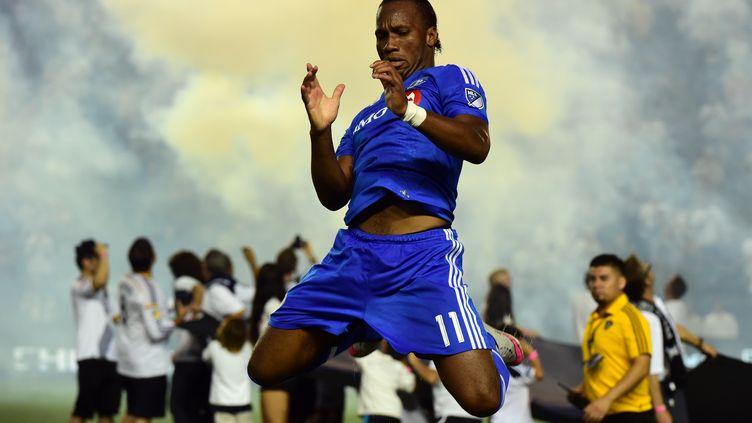 Didier Drogba (Montréal) (FREDERIC J. BROWN / AFP)
