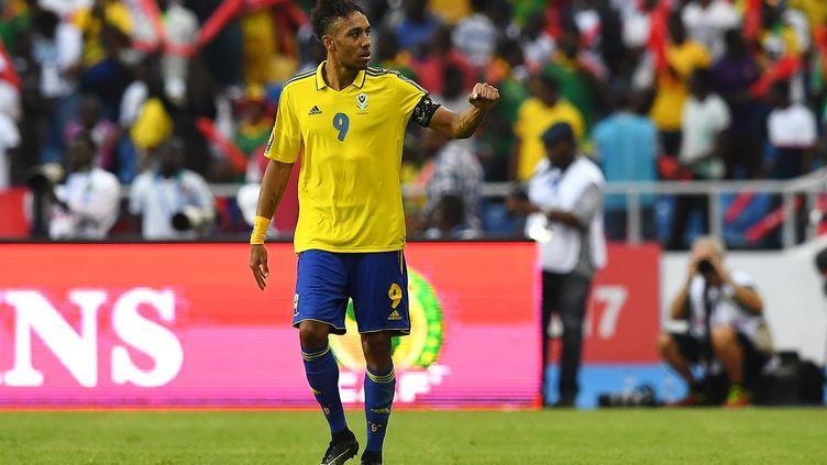 Pierre-Emerick Aubameyang (Gabon) (GABRIEL BOUYS / AFP)