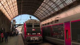 Le train de nuit Paris-Nice. (CAPTURE ECRAN FRANCE 2)