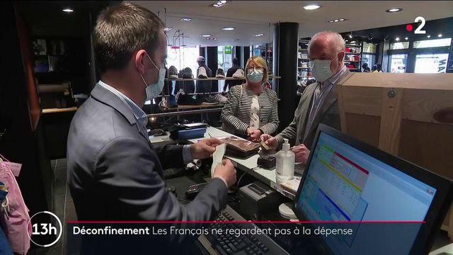 Déconfinement : les Français en pleine fièvre acheteuse