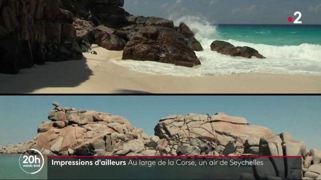 Impressions d'ailleurs : Au large de la Corse, un air de Seychelles