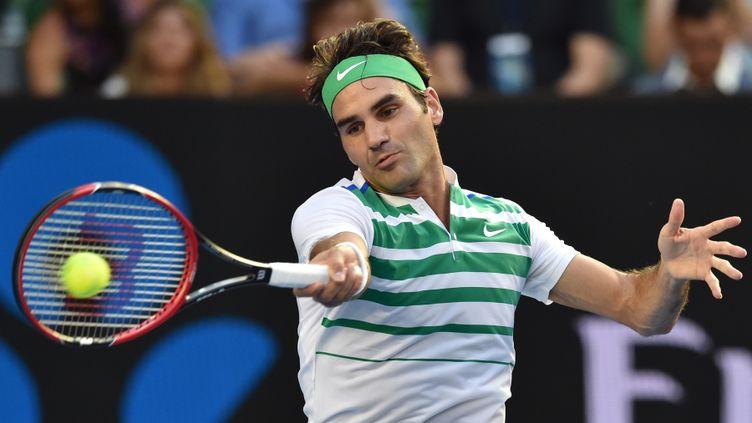 Roger Federer (SAEED KHAN / AFP)
