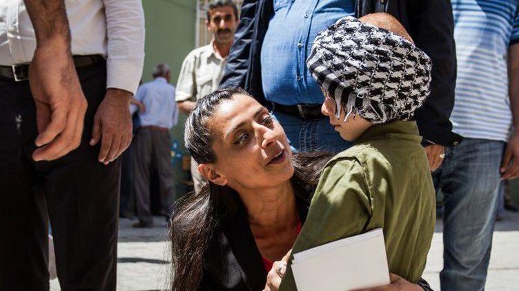 Feleknas Uca, première femme yazidie élue au parlement turc. Elle était candidate sur une liste du HDP. (AURORE BELOT / NURPHOTO)