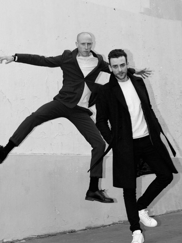 Simon Delacour et Bastien Beny, les créateurs de la marque Domestique (Indira Widmer)
