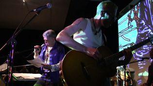 Robert Combas en concert  (France3/culturebox)