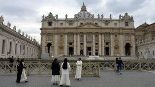 La basilique Saint-Pierre de Rome, au Vatican, le 11 mars 2014. (MAXPPP)
