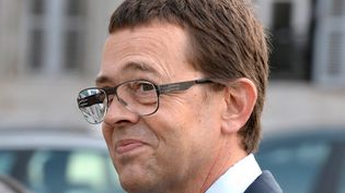 Nicolas Bonnemaison lors de son procès en première instance, à Pau en juin 2014. (JEAN-PIERRE MULLER / AFP)