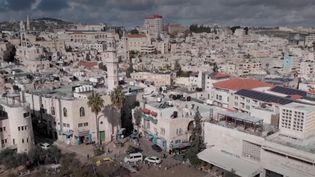 Bethléem : un Noël sans les touristes. (Capture d'écran/France 3)