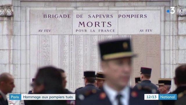 Explosion de gaz à Paris : hommage national aux pompiers morts