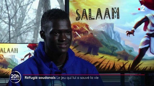 Réfugié soudanais : le jeu vidéo qui lui a sauvé la vie